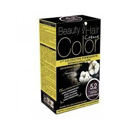 BEAUTY HAIR COLOR CHATAIN CLAIR VIOLET 5.2