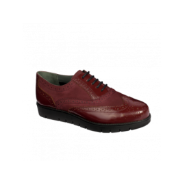 SCHOLL VIRGINA BORDEAUX P37