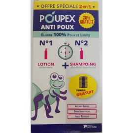 POUPEX PACK DUO ANTI POUX