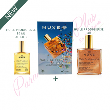 NUXE COFFRET HUILE OR 100ML...